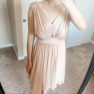 Vera Wang Bridesmaid Dress Short Blush 4